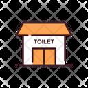Toilet Restroom Gents And Ladies Both Restroom Icon