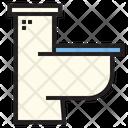 Toilet Commode Flush Icon