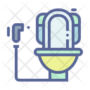 Flush Sanitary Restroom Icon