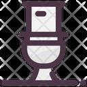 High Toilet Disability Icon