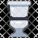 Toilet Flush Bathroom Icon