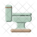 Household Toilet Bowl Icon