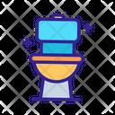 Disinfectant Toilet Clean Icon