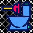 Toilet Job Tool Icon