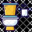Commode Flush Toilet Icon