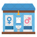 Toilet Restroom Bathroom Icon