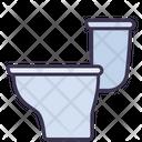 Toilet Sanitary Ware Icon