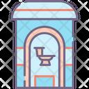Toilet Restroom Toilet Bowl Icon