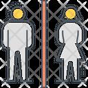 Toilet Washroom Male Icon