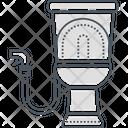 Toilet Flush Washroomcommode Icon