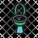 Bathroom Bowl Closet Icon