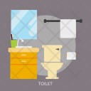 Toilet Building Interior Icon