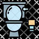 Toilet Bathroom Plunger Icon