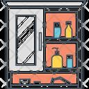 Toilet Cabinet Handwash Cabinet Icon