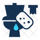 Toilet cleaning Icon