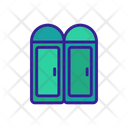 Toilet Door Icon