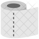 Tissue Roll Toilet Icon