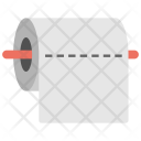 Paper Toilet Bathroom Icon