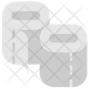 Quarantine Stayhome Toilet Paper Paper Roll Icon