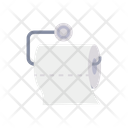 Toilet Paper Paper Roll Cleaning Icon