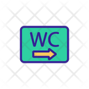 Wc Contour Pointer Icon