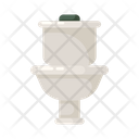 Commode Flush Flushing Icon