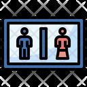 Toilet Sign Bathroom Woman Icon