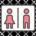 Toilet Sign Hotel Icon