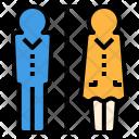 Toilet Sign Man Icon