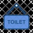 Toilet Sign Board Toilet Sign Toilet Signboard Icon
