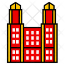 Tokyo City Asian Icon