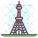 Tokyo Tower Japanese Landmark Japanese Skyscraper Icon