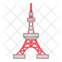Tokyo Tower Landmark Icon