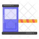 Toll Booth Toll Cabin Check Post Icon