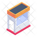 Tollbooth Toll Cabin Checkpost Icon