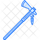Tomahawk Ax Feather Icon