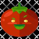 Tomato Emoji Face Icon