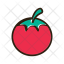 Tomato Vegetable Healthy Food Icon