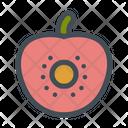 Tomato Watermelon Fruit Icon