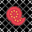 Tomato Cooking Fruit Icon