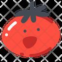 Tomato Vegetable Danger Icon