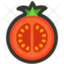 Tomato Slice Vegetable Icon