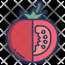 Tomato Vegetarian Vegetable Icon