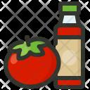 Tomato Sauce Ketchup Icon