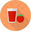 Tomato Juice Restaurant Icon