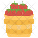 Tomato Harvest Fruit Healthy Food Icon