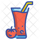 Tomato Vegetable Juice Icon