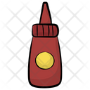 Ketchup Bottle Tomato Sauce Tomato Paste Icon