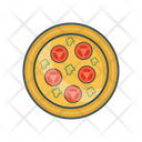 Plate Food Tomato Icon