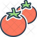 Tomatoes Agriculture Cooking Icon
